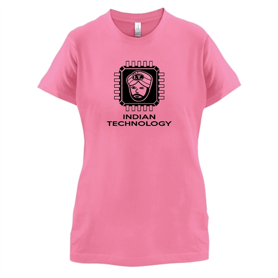 Indian Technology t-shirts for ladies