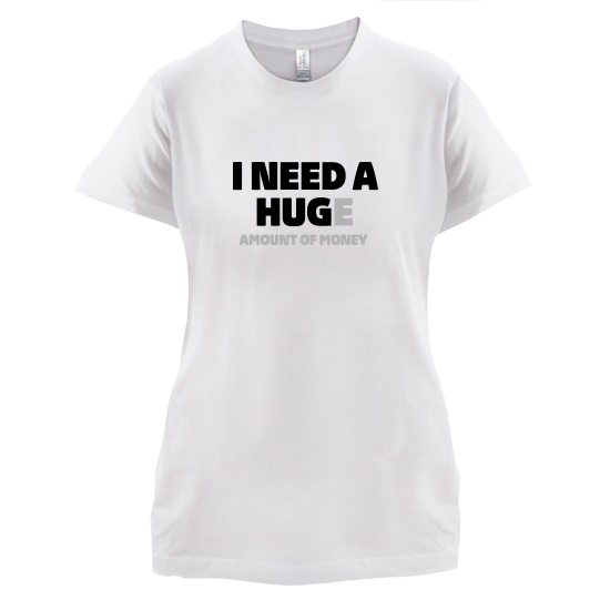 I Need A Hug t-shirts for ladies