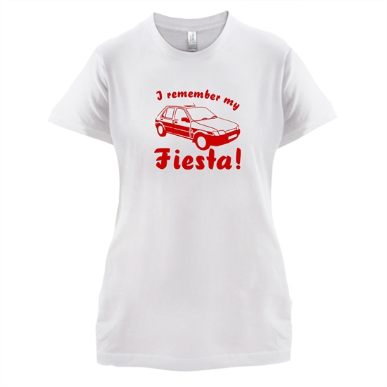 I Remember My Fiesta! t-shirts for ladies