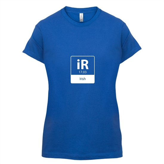 irish element t-shirts for ladies