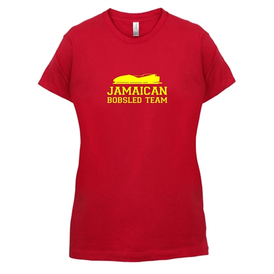 Jamaican Bobsled Team t-shirts for ladies