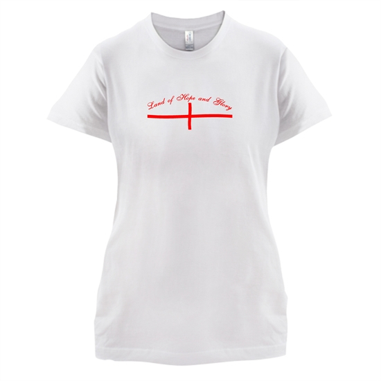 Land of hope and Glory t-shirts for ladies