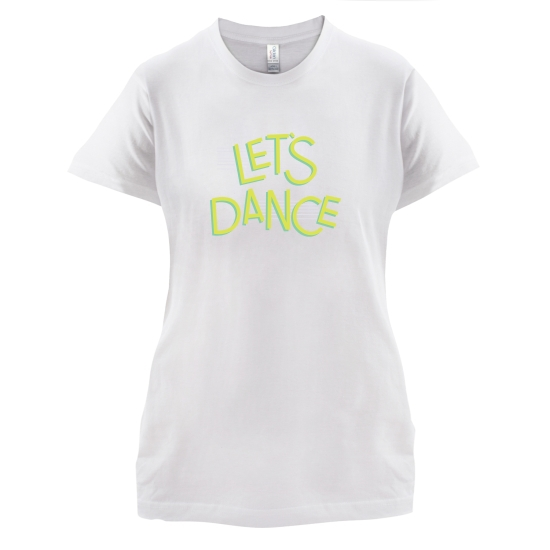 Let's Dance t-shirts for ladies