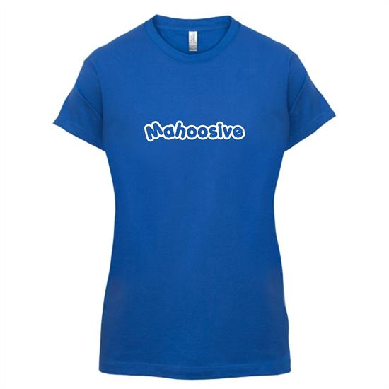 Mahoosive t-shirts for ladies