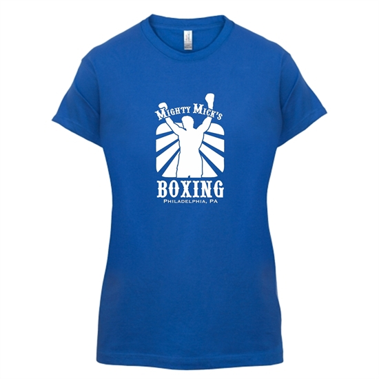 Mighty Micks Boxing t-shirts for ladies
