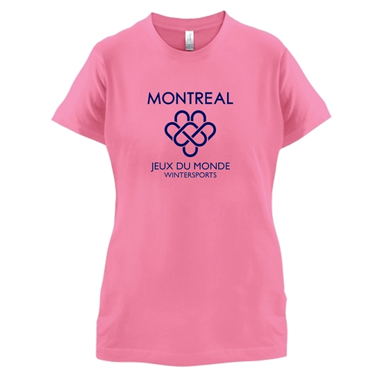 Montreal Wintersports t-shirts for ladies