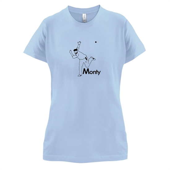 Monty Panesar t-shirts for ladies