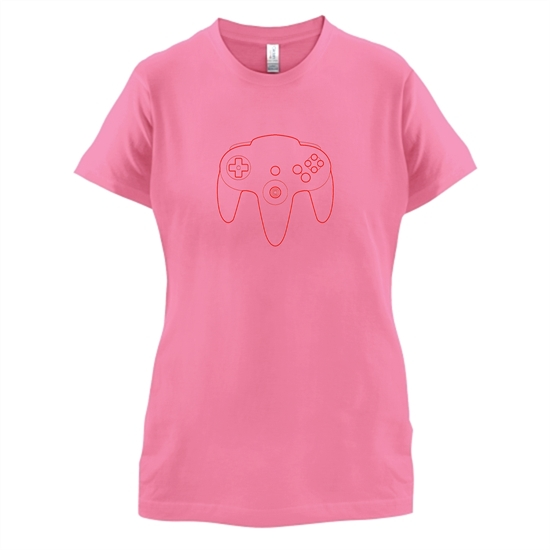 N64 Joypad t-shirts for ladies