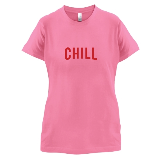 Netflix and Chill t-shirts for ladies