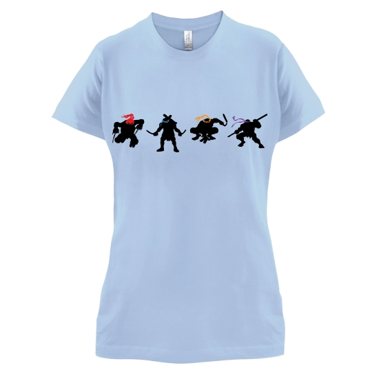 Ninja Tortoise t-shirts for ladies