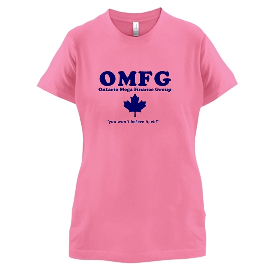 OMFG t-shirts for ladies