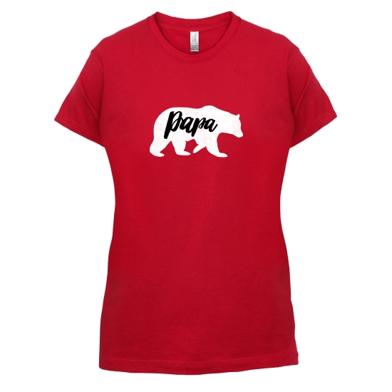 Papa Bear t-shirts for ladies