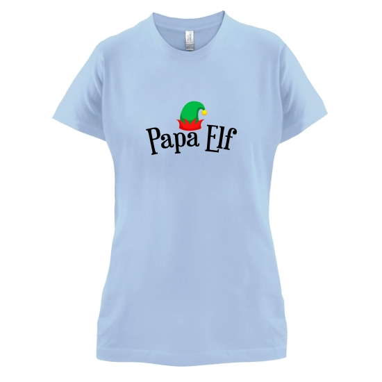 Papa Elf t-shirts for ladies