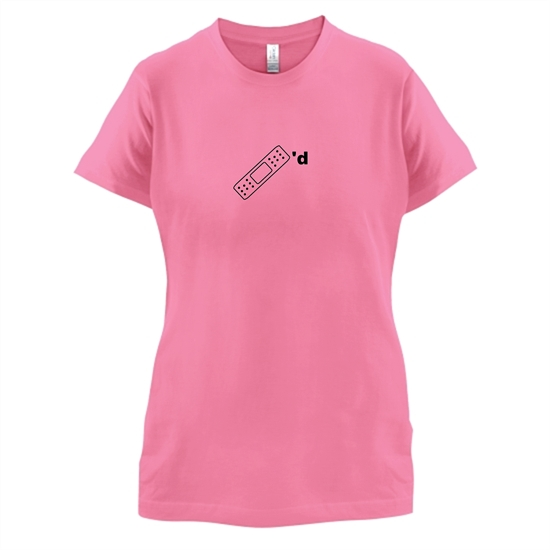 Plastered t-shirts for ladies