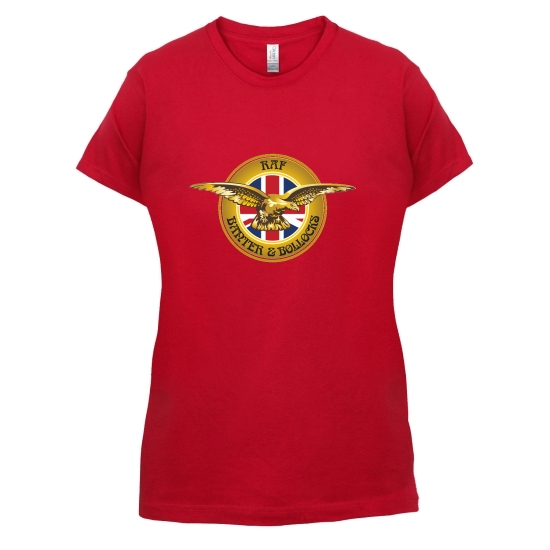 RAF Banter and Bollocks t-shirts for ladies