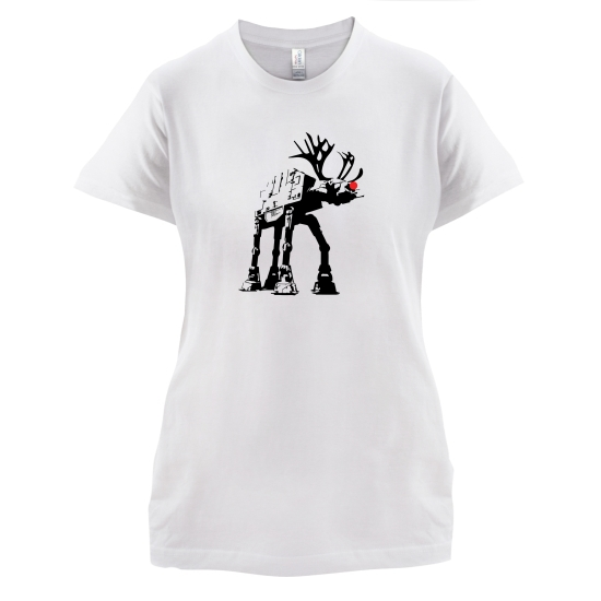 Reindeer ATAT t-shirts for ladies
