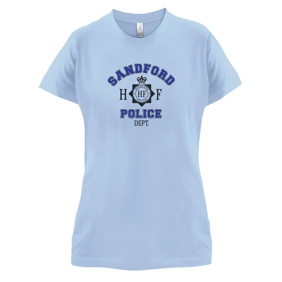 Sandford Police Dept. t-shirts for ladies