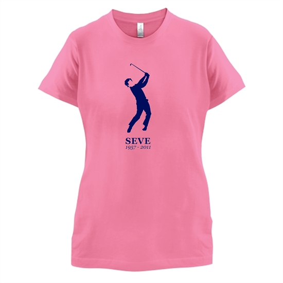 Seve Ballesteros t-shirts for ladies