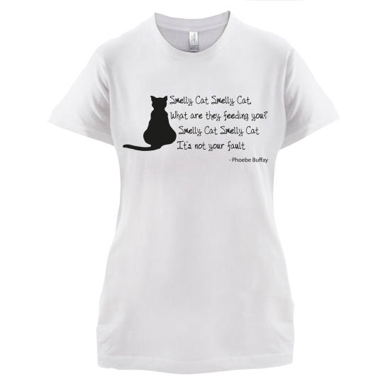 Smelly Cat t-shirts for ladies