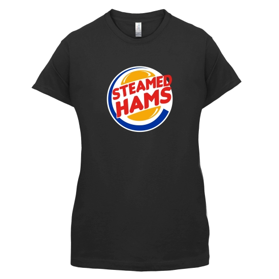 Steamed Hams t-shirts for ladies