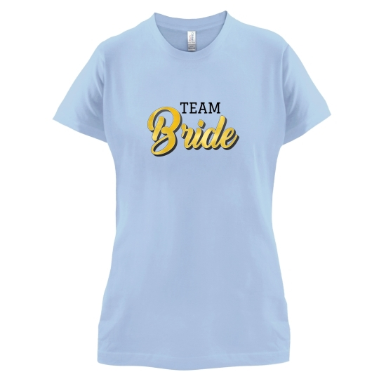 Team Bride t-shirts for ladies