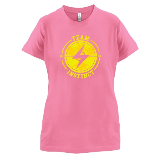 Team Instinct GO t-shirts for ladies