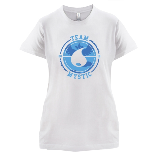 Team Mystic GO t-shirts for ladies