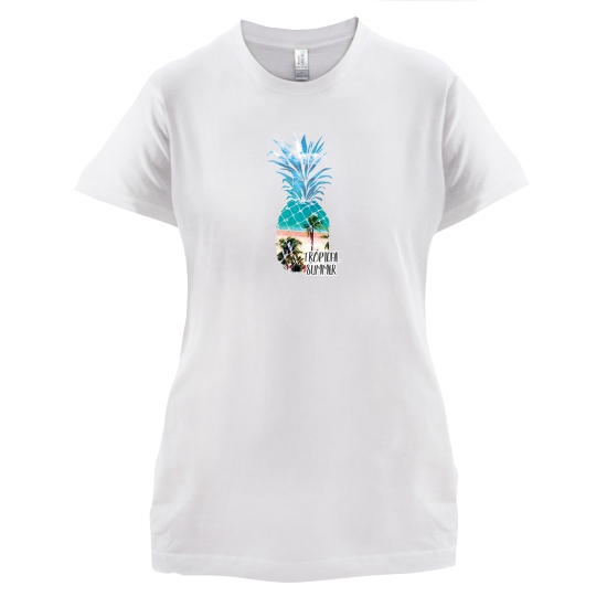 Tropical Summer t-shirts for ladies