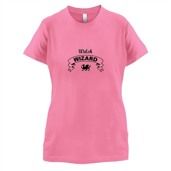 Welsh Wizard t-shirts for ladies