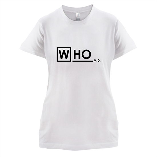 Who MD t-shirts for ladies