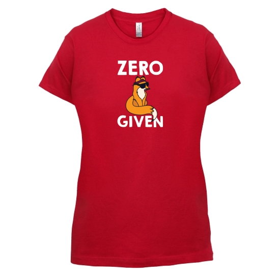 Zero Fox Given t-shirts for ladies