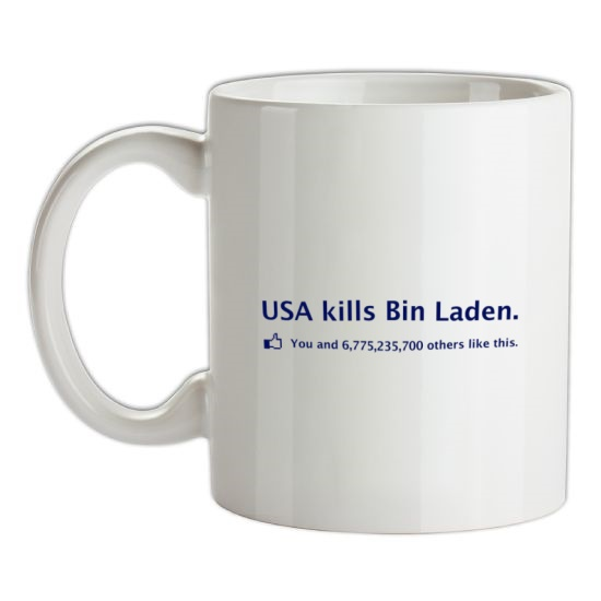 Bin Laden Facebook t-shirts