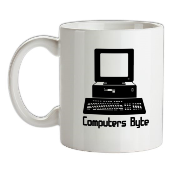 Computers Byte t-shirts