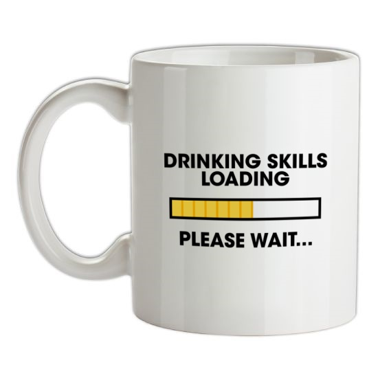 Drinking Skills Loading... t-shirts