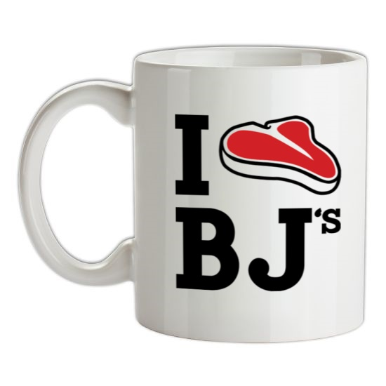 I Steak BJ's t-shirts