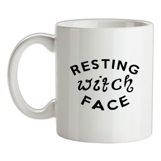 Resting Witch Face t-shirts