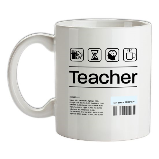 Teacher Ingredients t-shirts