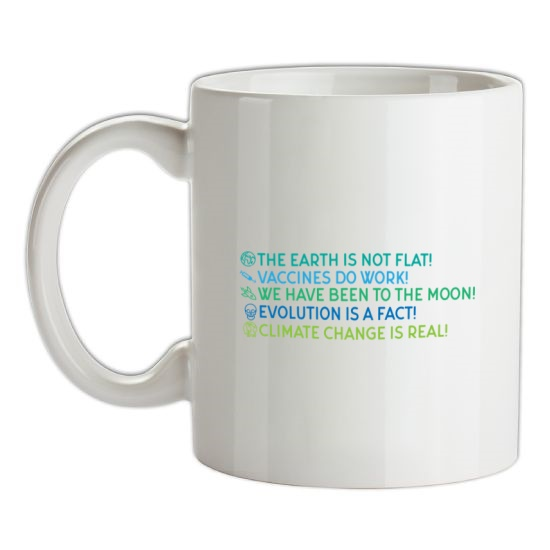 The Earth Is Not Flat t-shirts