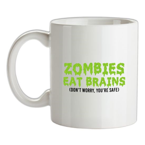 Zombies Eat Brains t-shirts