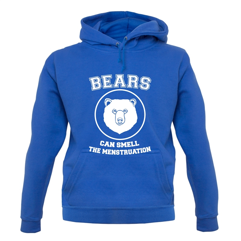 Bears Can Smell The Menstruation Hoodies