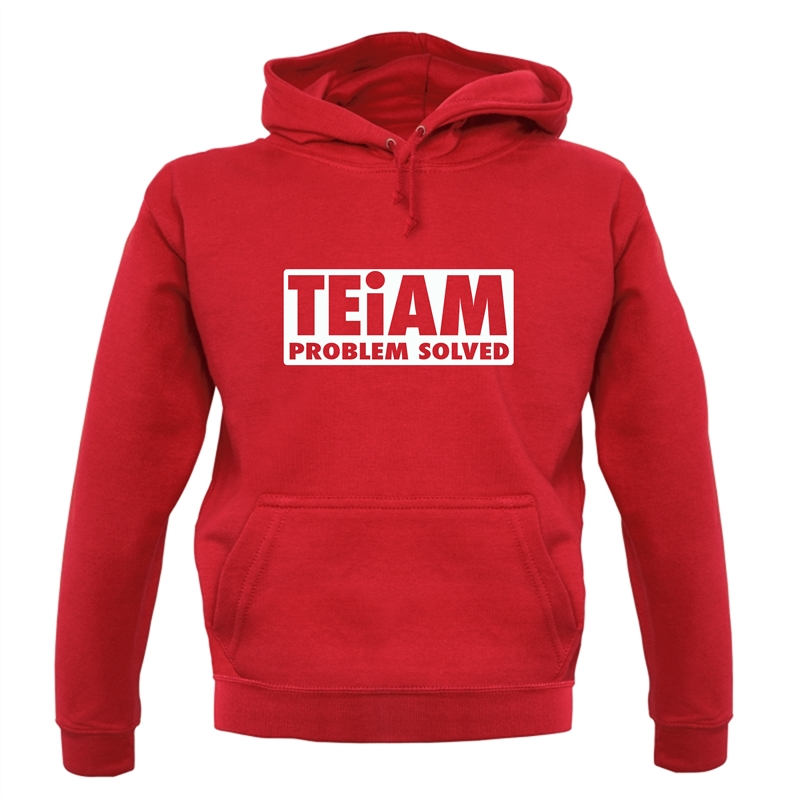 Teiam Problem Solved Hoodies
