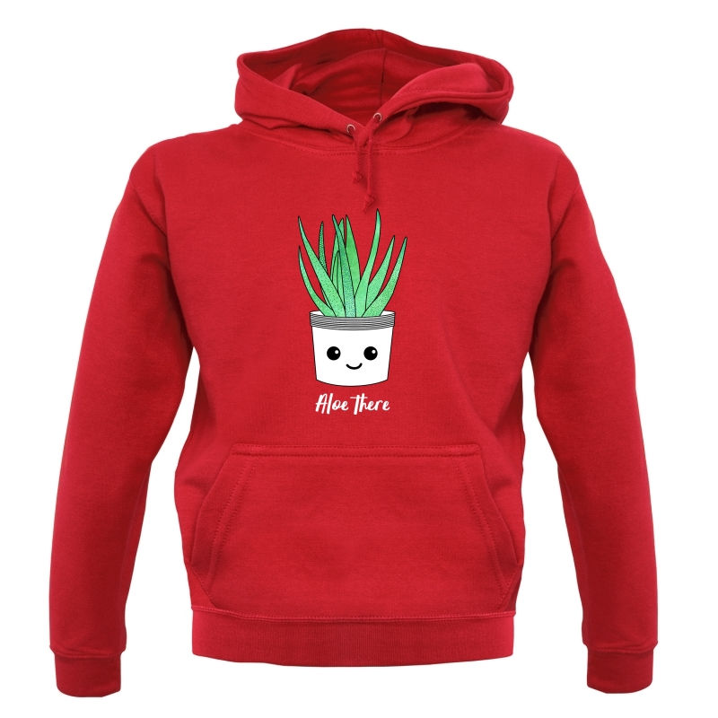Aloe There Hoodies
