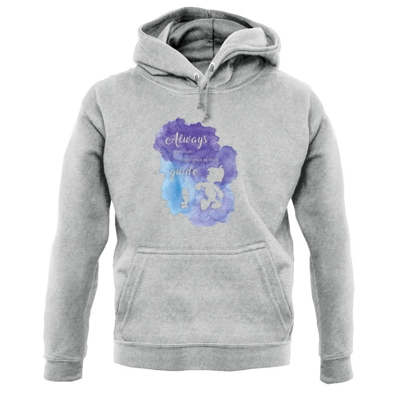 Always Let Your Conscience Be Your Guide Hoodies