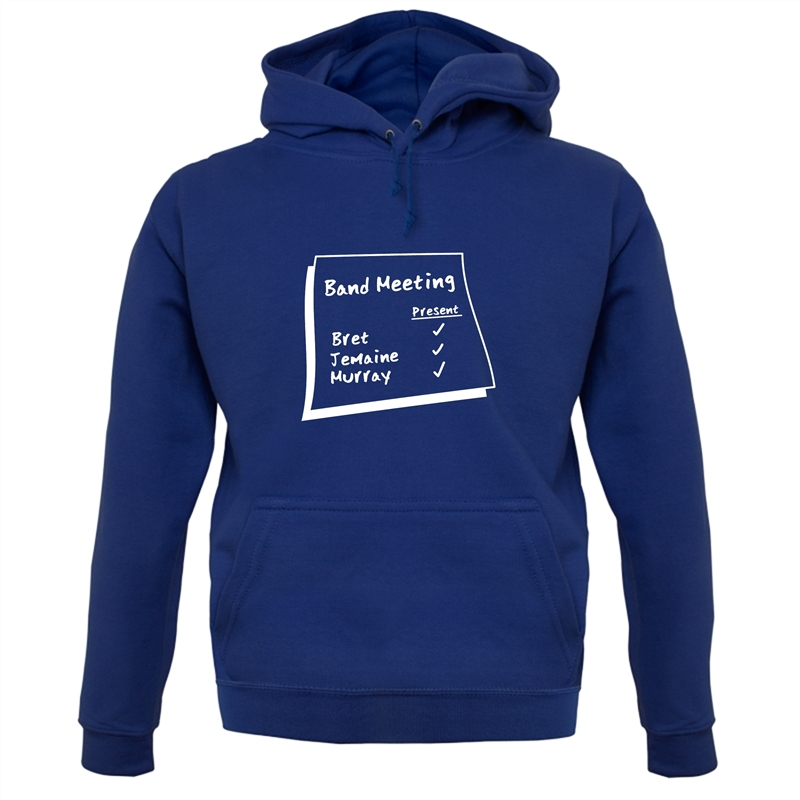 Band Meeting Hoodies