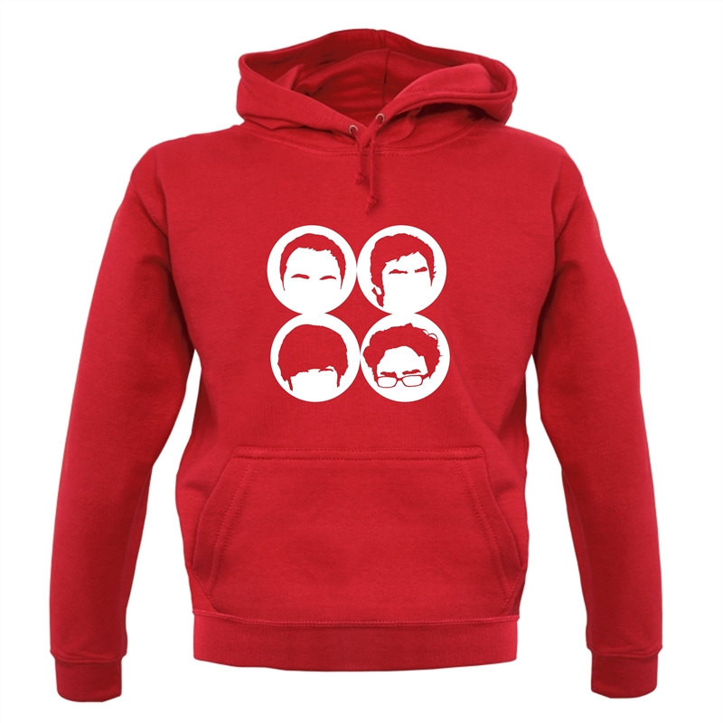 Big Bang Theory Silhouettes Hoodies
