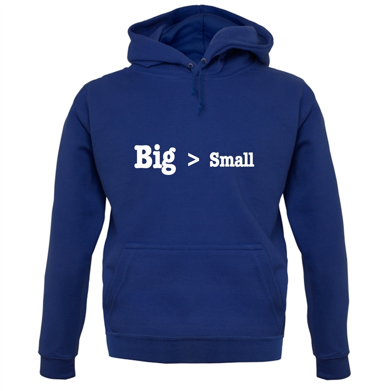 Big Small Hoodies