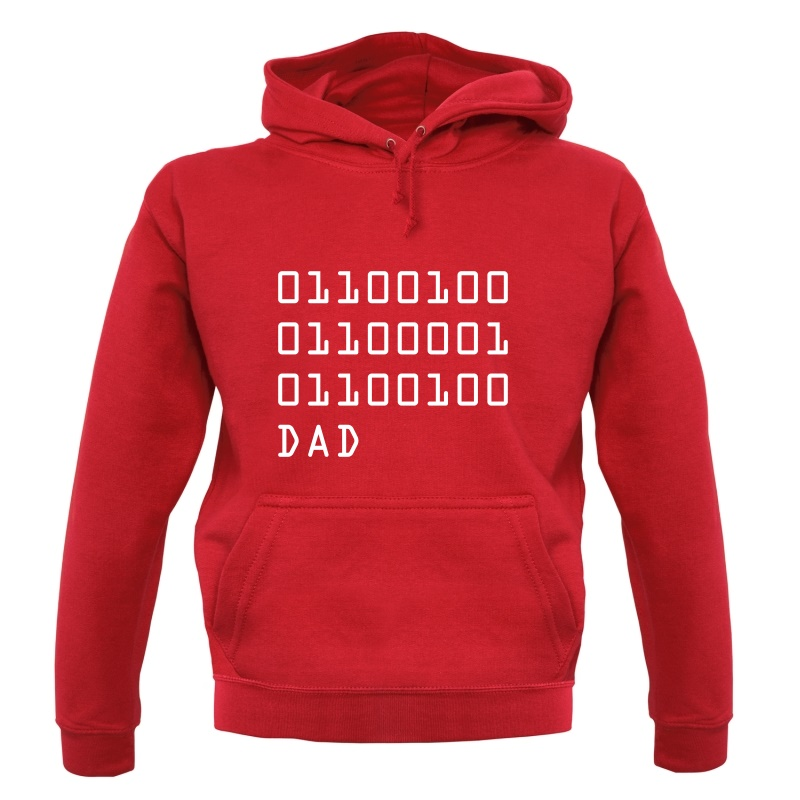 Binary Dad Hoodies
