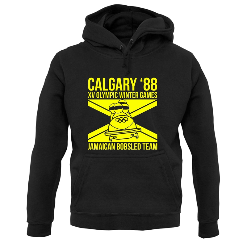 Calgary 88 Jamaican Bobsleigh Team Hoodies