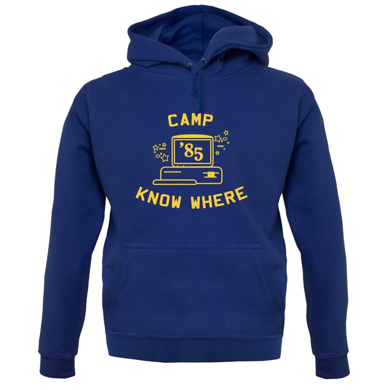 Camp Know Where Hoodies
