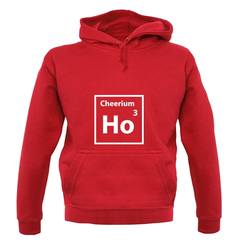 Christmas Element Cheerium Ho Ho Ho Hoodies